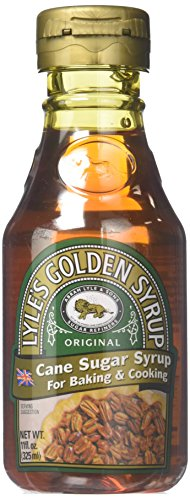 Lyle's Golden Syrup, Original, All-Natural Syrup for Baking and Cooking, 600 gram