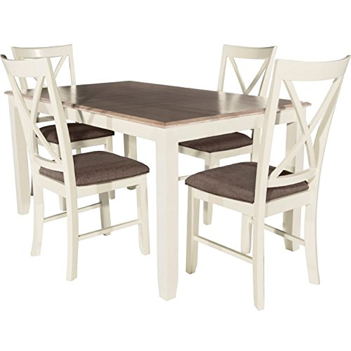 Powell Dining Table Set (Powell Furniture 15D8153 Jane 5 Piece Dining Set)