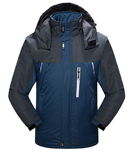 VITryst Men Plus Velvet All Seams Taped Breathable Snowboard Jacket Lake...