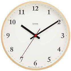 Lemnos Plywood clock radio clock Natural LC10-21W NT