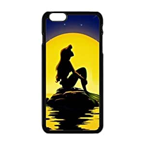 Beautiful sea yellow moon Mermaid Cell Phone Case for Iphone 6 Plus by mcsharks
