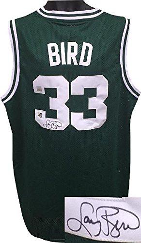 c912b1a2a85e Larry Bird Signed Jersey - Green Adidas TB Hardwood Classics XL +2 length  SSG Holograms