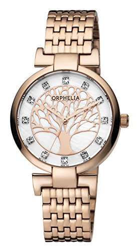 ORPHELIA Lignum Women's Rose Gold Stainless steel watch-OR12702