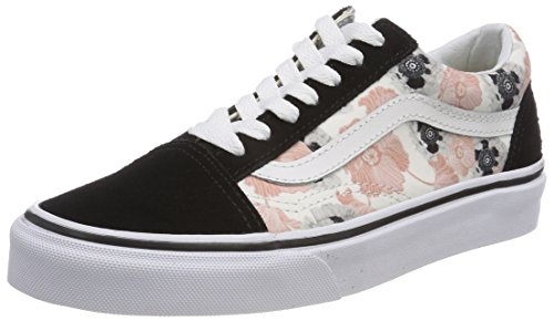 Skool Femme Running Unique Multicolore Bleu de Chaussures Old California Taille Poppy Vans 5Hg7SqpW