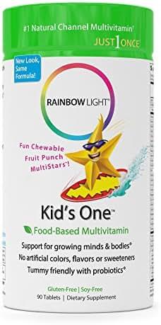 Rainbow Light - Kids One Food-Based Multivitamin -90 Tablets