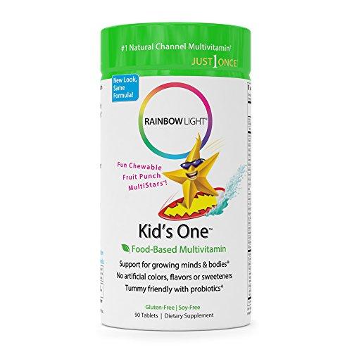 Rainbow Light Kid's One Multivitamin/Mineral - 90 Tab (Gummy Power Sours)