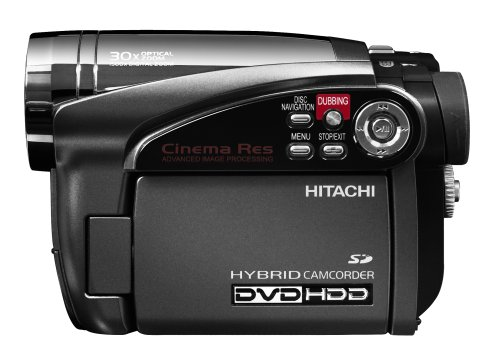 hitachi dzhs500a dvd hybrid camcorder with 30x optical zoom 30gb rh amazon ca Hitachi DZ-BX37A Camcorder Hitachi Bx35a Adapter Charger
