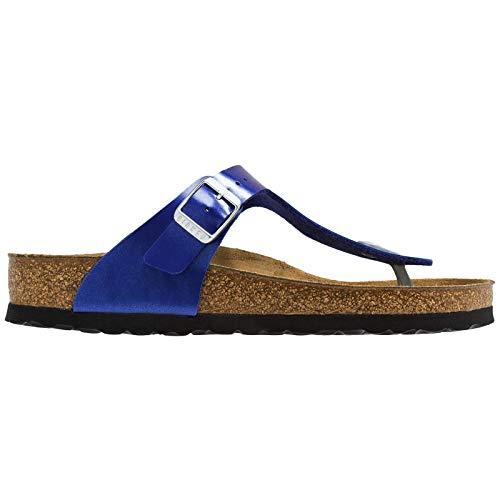 (Birkenstock Unisex Gizeh Birko-Flor Ocean Sandals 8 W / 6 M US)