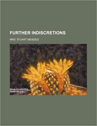 Book Further Indiscretions