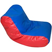 Preschool High Back Seating in Blue/Red