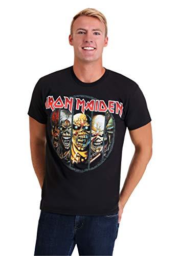 Mens Iron Maiden Eddie Evolution Black T-Shirt -