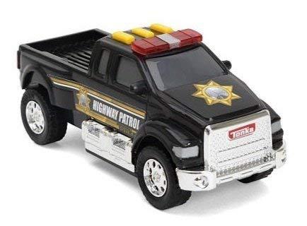 Tonka Lights & Sounds Toughest Minis - Highway Patrol Pickup Truck