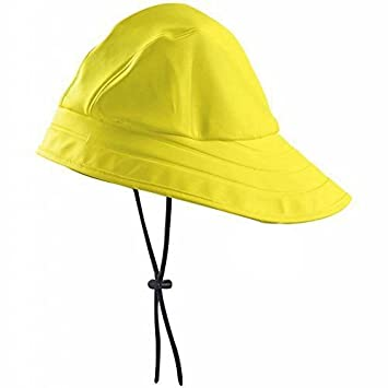 Yellow Fisherman Hat South Western Vintage Style Rain Fishing Hat Worker   Amazon.co.uk  Toys   Games df2ad65eae2