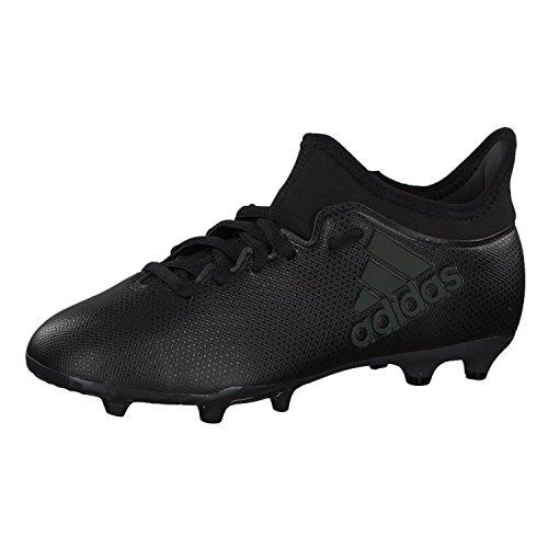 adidas X 17.3 FG J, Botas de Fútbol Unisex Niños Multicolor (Cblackcblacksupcya)