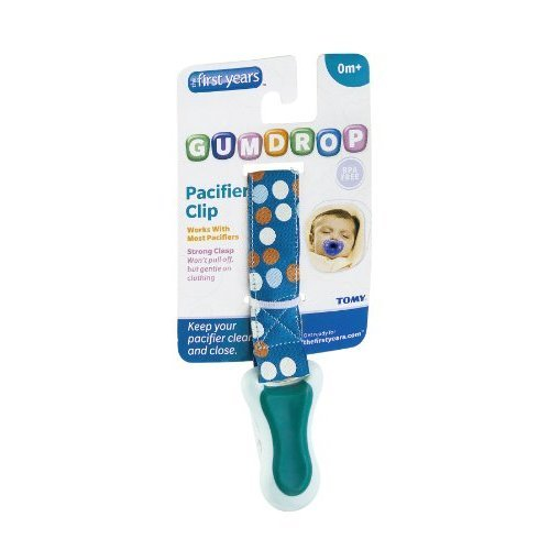 First Years Y4766 Assorted Pacifier Attacher