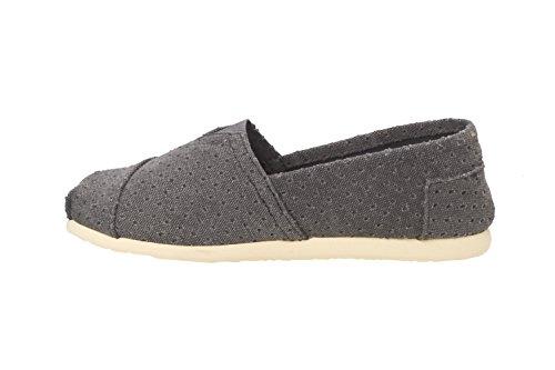 Brasileras Tejano - Alpargatas unisex, color gris, talla 45