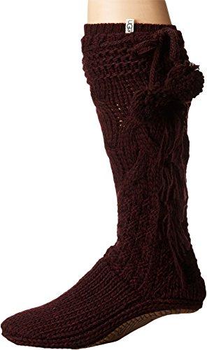 UGG Women's Cozy Slipper Socks Port Heather X-Small/Small