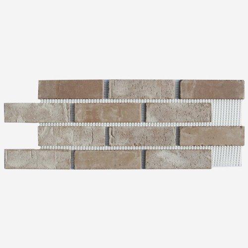 Brickweb Thin Brick Box of Little Cottonwood Flat Sheets - 8.7 Sq. Ft. Old Mill Brick Inc. BW-370010CS