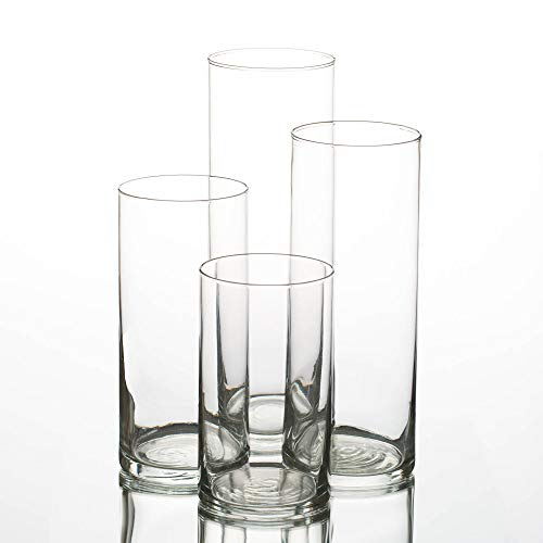 (Eastland Glass Cylinder Vases Set of 48)