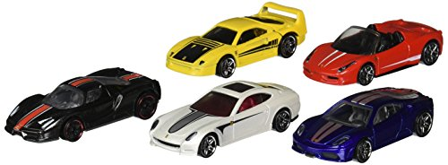 Hot Wheels, 2014 Race, Ferrari 5-Pack