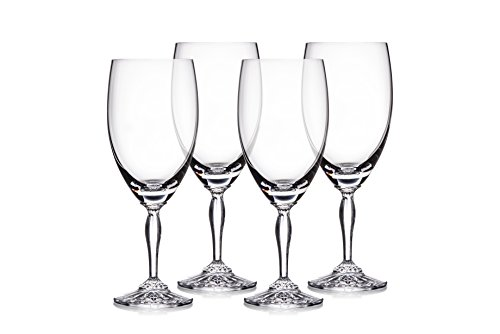 Marquis by Waterford 40030434 Ventura Iced Beverage Set/4, Set of 4, Clear