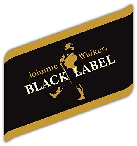 Johnnie Walker Black Label Logo Sticker Car Bumper Decal 5'' X 5''
