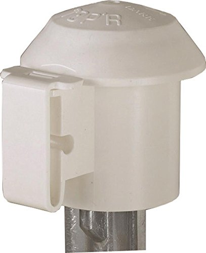 DARE Products 2929 831929 Tpost Top Insulator (10 Pack), White