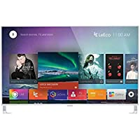 LeEco L554UCNN 4k 55 LED TV, Silver (Certified Refurbished)