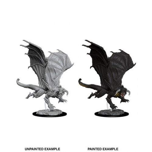 Dungeons and Dragons: Nolzur's Miniatures Young Black