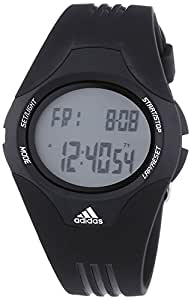 adidas  Uraha - Reloj de cuarzo para hombre, con correa de plástico, color negro
