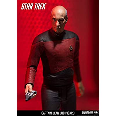 McFarlane Toys Star Trek Captain Jean-Luc Picard Collectible Action Figure: Toys & Games