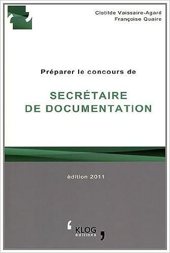 Télécharger en ligne Préparer le concours de secrétaire de documentation : Culture et ville de Paris pdf epub