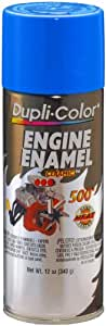 Dupli-Color DE1601 Ceramic Ford Blue Engine Paint - 12 oz.