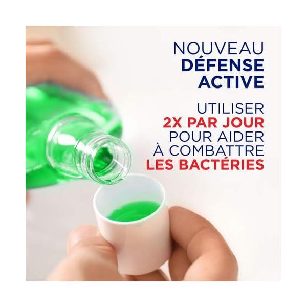 Signal Bain de Bouche Antibactérien, Integral 8 Protection Complète, Propreté et Fraîcheur, Lutte contre les bactéries…