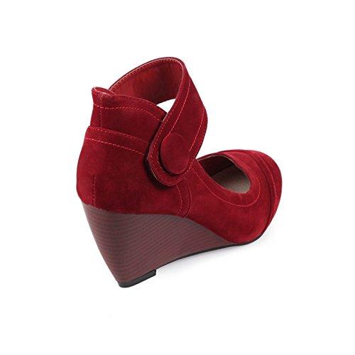 Rojo La De Zapatos Modeuse Vestir Mujer ZrXZq6