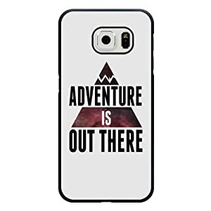 For Iphone 6Plus 5.5Inch Case Cover Diy Disney Adventure Is Out There Black Hard Shell For Iphone 6Plus 5.5Inch Case Cover Adventure Is Out There Edge Case(Only Fit for Edge)