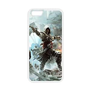 Assassins Creed Black Flag iPhone 6 4.7 Inch Cell Phone Case White yyfabc_119577