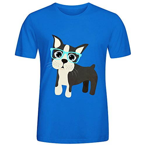 Boston Terrier Cck Men T Shirts - And Sister Kunis Mila