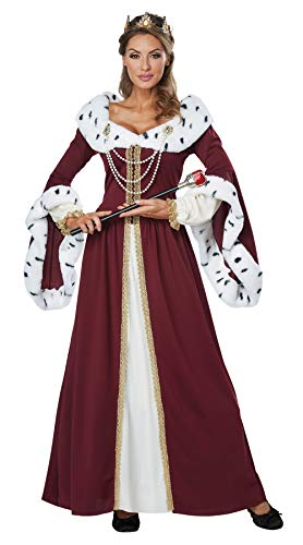 California Costumes Women's Royal Storybook Queen Adult Woman, Multi, Extra Large