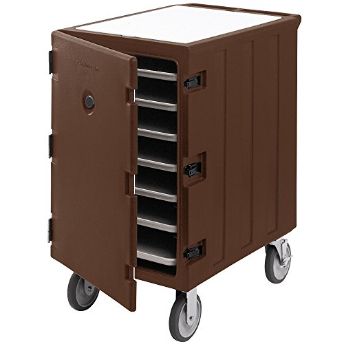 Cambro Camcart 1826LTC3131 Dark Brown Mobile Cart for 18