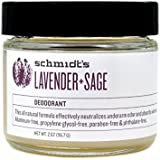 Schmidt's Natural Deodorant - Lavender and Sage Jar 2 ounce