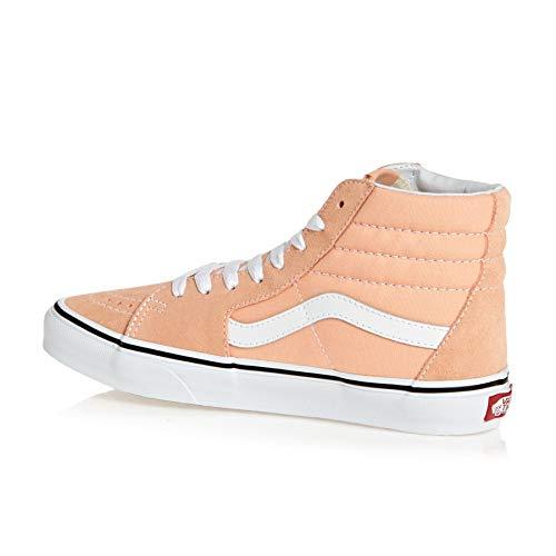 Blanchi Abricot Blanc Pour Baskets Femmes hi Sk8 Vans Vritable 1pqZU