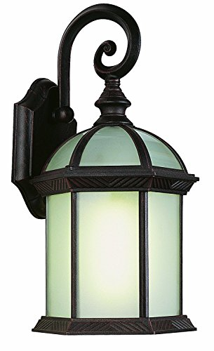 Trans Globe Lighting PL-4181 BK Outdoor Wentworth II 7.5