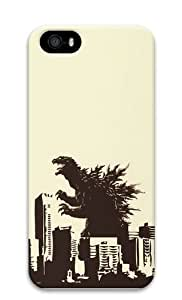 Godzilla Polycarbonate Hard 3D Case Cover for iPhone 5 and iPhone 5S
