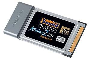 Creative Labs SB Audigy 2 ZS Notebook Interno 7.1channels PCMCIA - Tarjeta de sonido (7.1 channels, 24 bit, PCMCIA, 256 MB, Intel Pentium III, Mobile Pentium III, Pentium M, Celeron - 1.2 GHz, 600 MB)