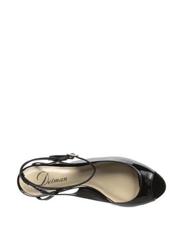 Back Hope Shoe Delman Patent Ankle Womens Strap Pump 6x5qYfwq
