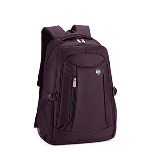 Baymate Mochila para Portatil / Notebook / Ordenador / PC Mochilas Escolares Backpack Laptop para Hombres y Mujeres 15 Pulgada Púrpura