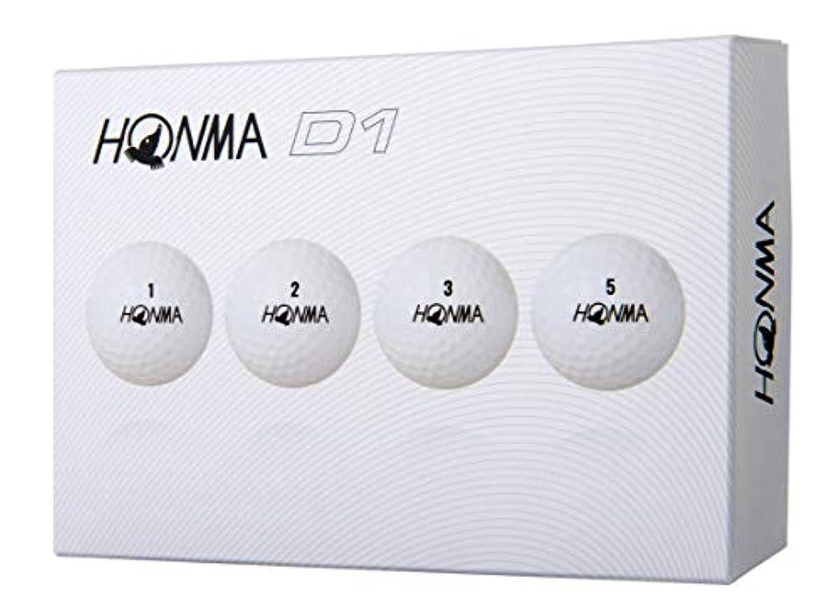 [해외] 혼마 골프 골프 볼 NEW D1