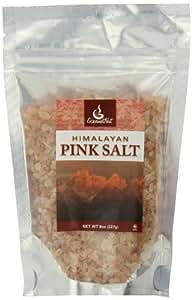 Gourmet Nut Pink Salt Refill Bag, Himalayan, 8 Ounce