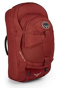 Osprey Packs Farpoint 70 Travel Backpack, Jasper Red, Small/Medium
